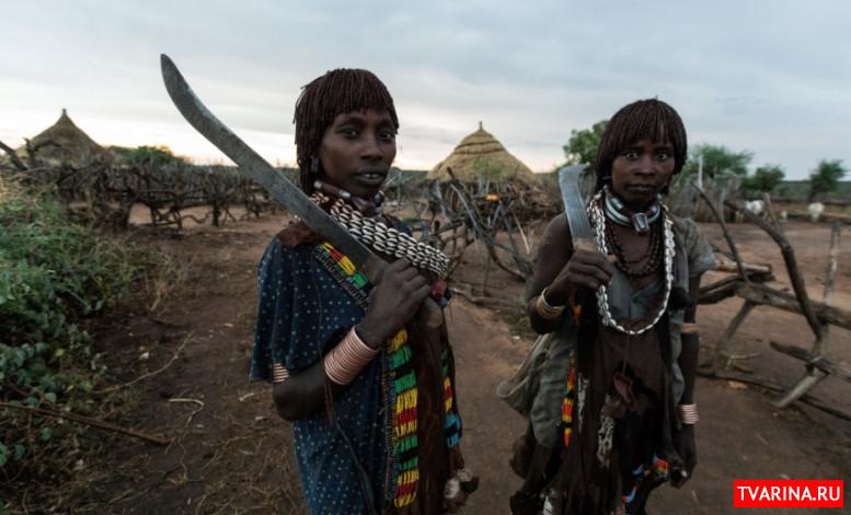 Изолированное гостеприимство и красота на грани уродства: история о встрече с племенами Эфиопии