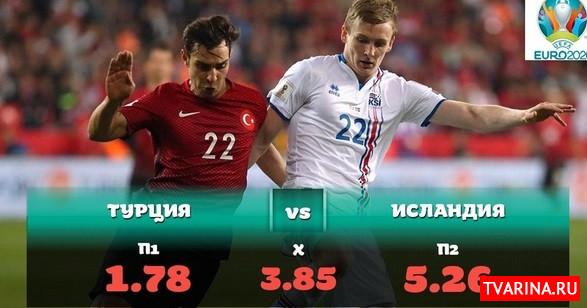 Турция Исландия 14 ноября 2019 Футбол. Евро-2020. Квалификационный раунд