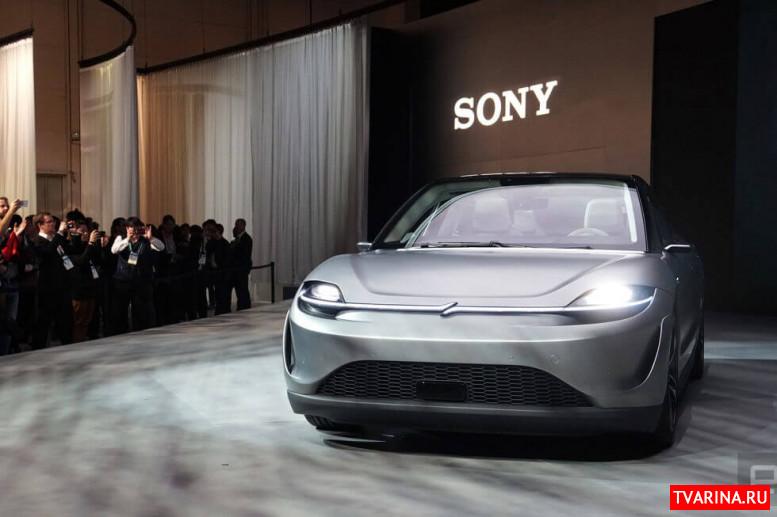 Компания Sony представила электрокар собственного производства 2020
