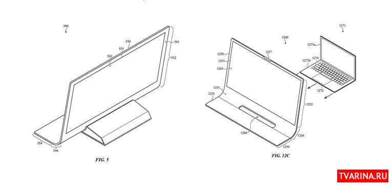 Компания Apple планирует запатентовать новый вид компьютера iMac 2020-2021