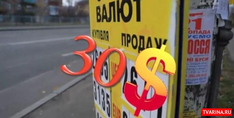 Будет ли курс доллара по 30 гривен? Чего ожидать в ближайшее время от валюты