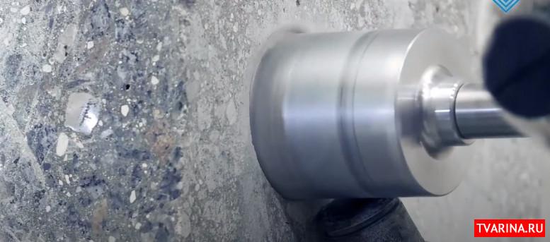 Алмазное бурение в сухую и с использованием воды, немного информации