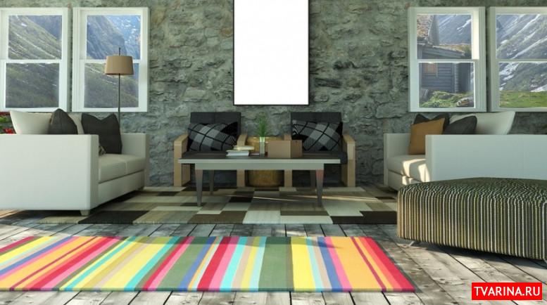 Использование ковров в современном интерьере, пару советов