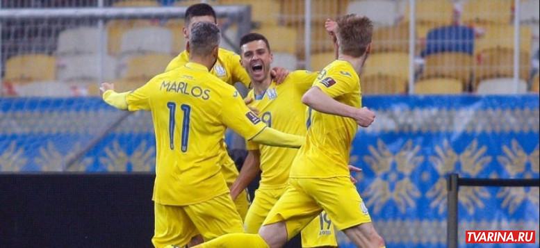 Украина Казахстан 31 03 2021 онлайн трансляция Футбол 1!